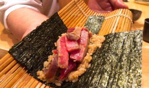 大トロの巻き寿司