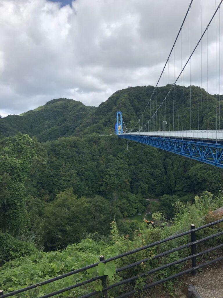 竜神バンジーの吊り橋