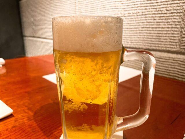 よろにくのビール