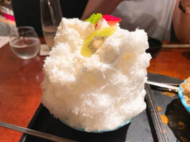 よろにくの白くまかき氷