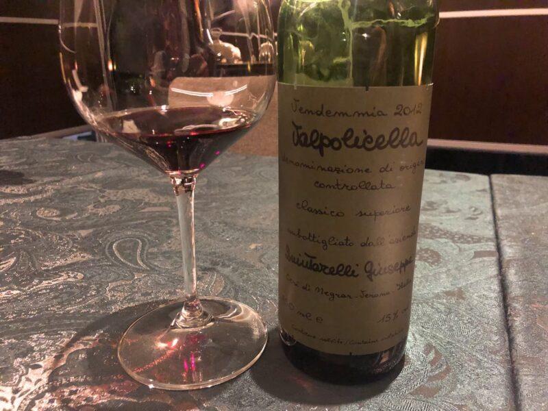 サローネのワインヴァルポリチェッラ